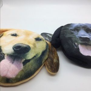 Handbags - NWOT Set of two doggie face coin purses